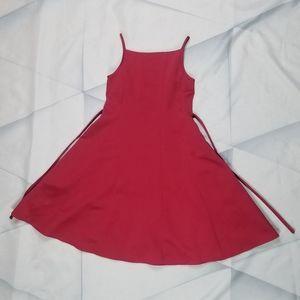 Amanda Rose Girls Red Dress